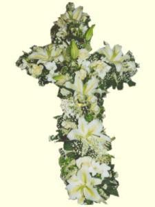 cruz de flores