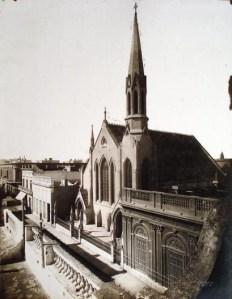 Iglesia Metodista en la calle Corrientes (ca. 1880)