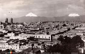 Ciudad de Puebla y los Volcanes