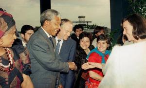 La visita de Mandela a México