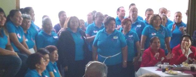 Hermanas de la Federación Sureste e iglesia local