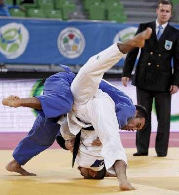 VJ.acciones del mundial juvenil de judo