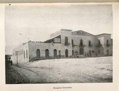 Hospital Civil, 1860. Hoy Hospital Universitario, Monterrey. N. L.