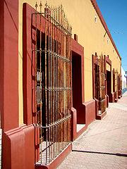 Centro histórico actual de Gral. Terán