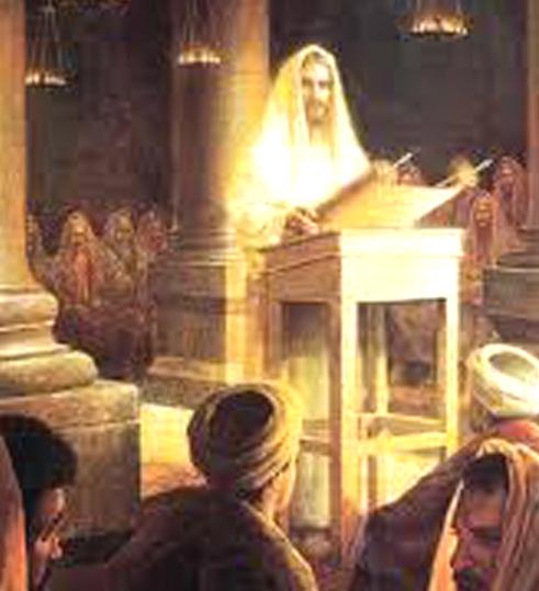 art.Jesus leyendo isaias