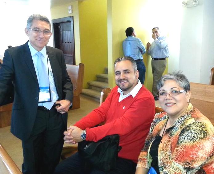 Obispo Raúl García, con invitados especiales Lizzette Gabriel Montalvo y Luciano Pereyra