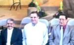 Hno. Edgar Avitia con los obispos Manuel Hernández y Andrés Hernández