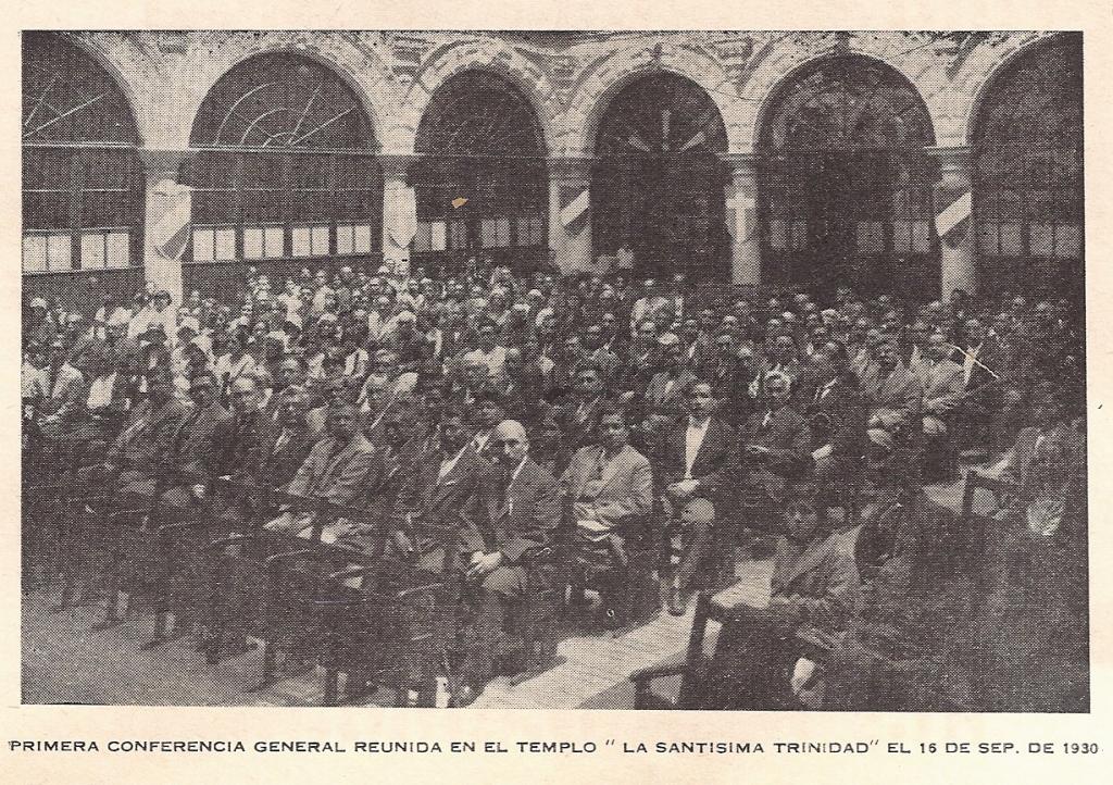 1a Conferencia General de la IMM en Gante, 1930