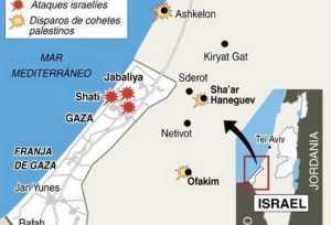 gaza-mapa