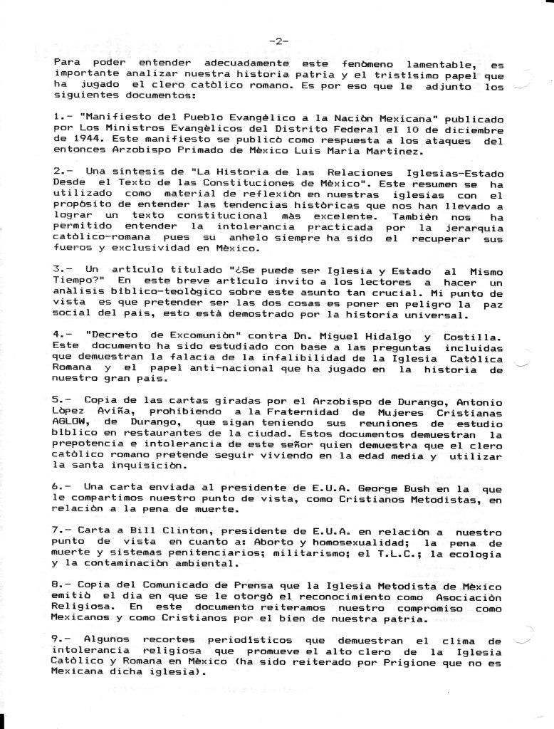 Secciones Varias – Página 46 – El Evangelista Mexicano