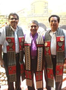 De México: obispos Felipe de Jesús Ruiz, Cruz Hernández y Andrés Hernández.
