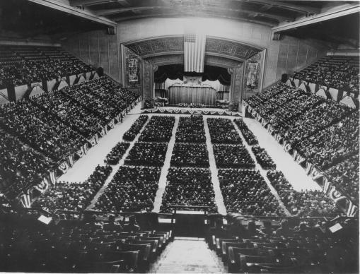 1939 Conferencia General de la Iglesia Metodista. Unión de metodismos