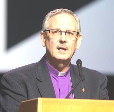 La CG de la IMU, obispo Bruce