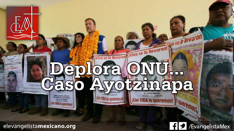 deplora onu ayotzinapa