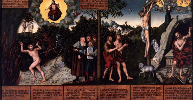 la reforma - viejo ley evangelio