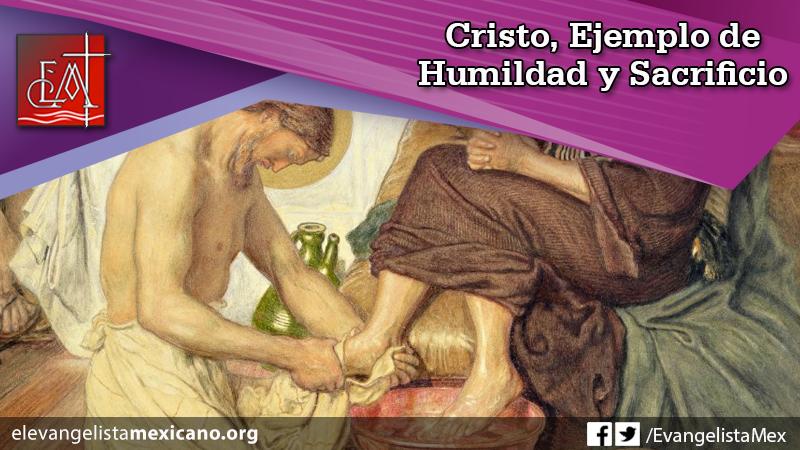 Cristo humildad sacrificio