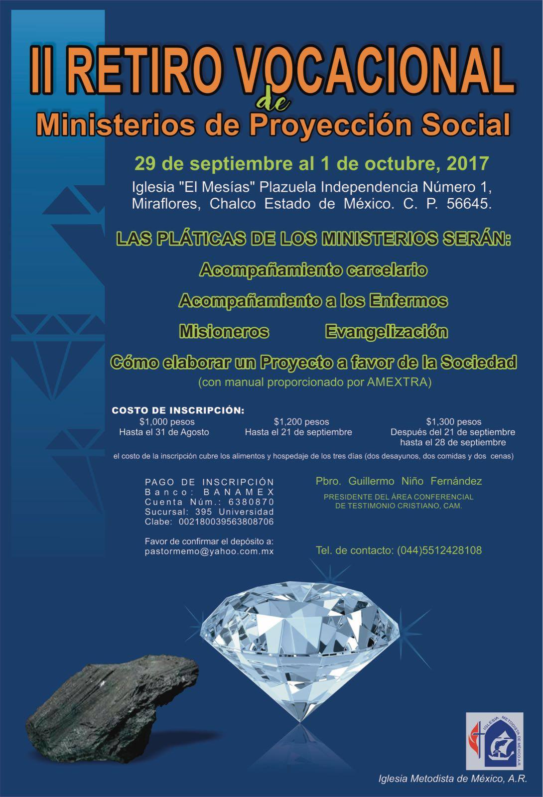 Ministerios de Proyecci__n Social, CAM