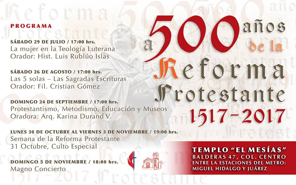 500 Aniversario de la Reforma, IMMAR El Mesías, CDMX