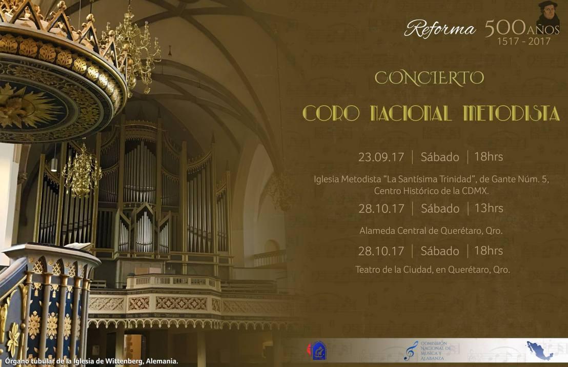 Concierto Magno Coro Nacional