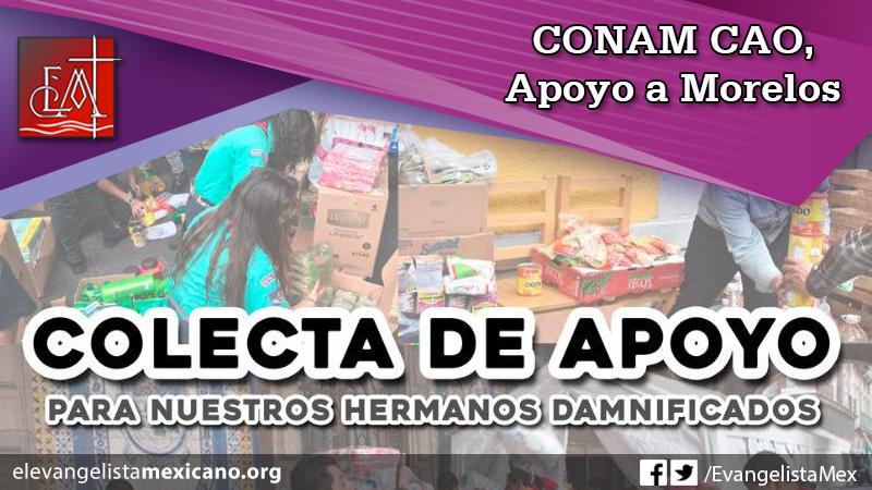 CONAM Apoyo Morelos