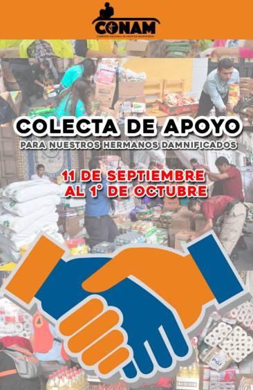 CONAM CAO, apoyo a Morelos 1