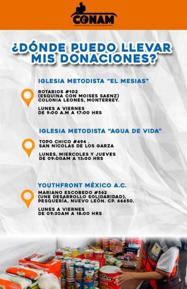 CONAM CAO, apoyo a Morelos 2