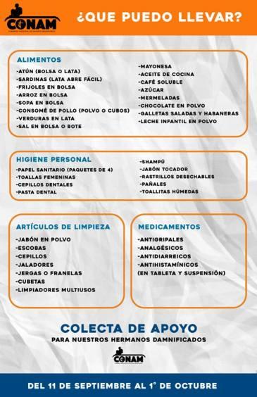 CONAM CAO, apoyo a Morelos 3