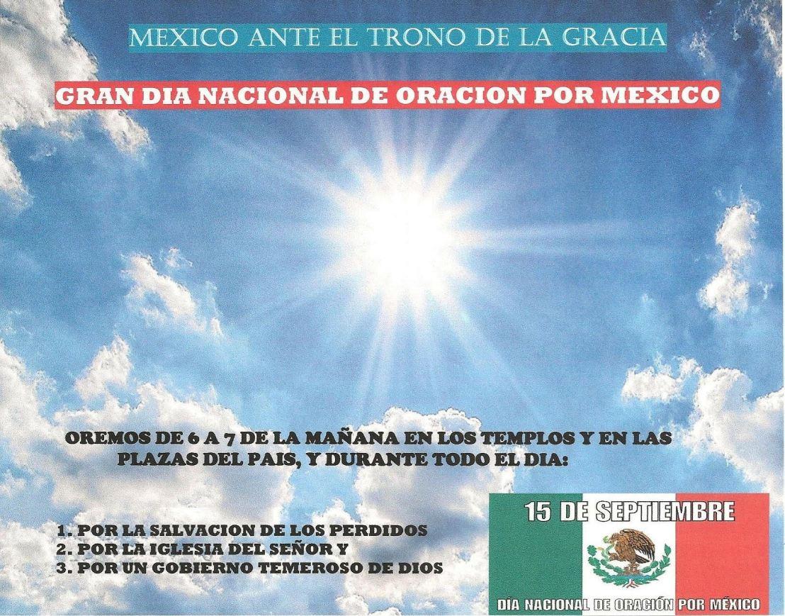 Día de Oración por México