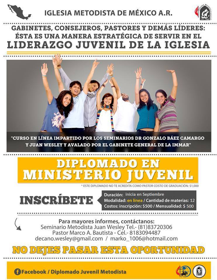 Diplomado en Ministerio Juvenil