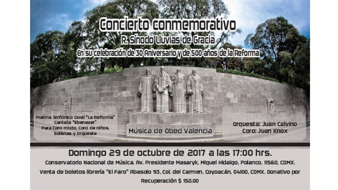 Concierto 500 Aniversario Reforma