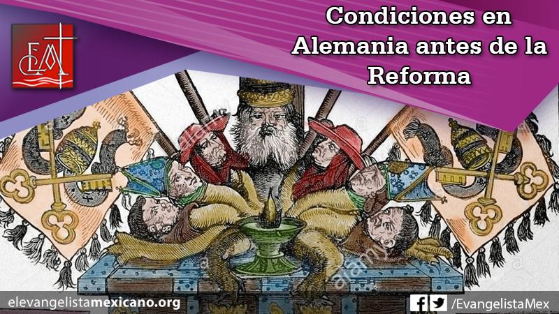 condiciones almemania antes reforma