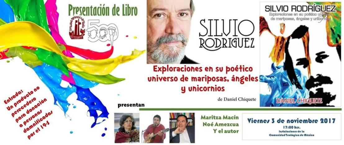 Presentación del libro Silvio Rodríguez - Pro damnificados