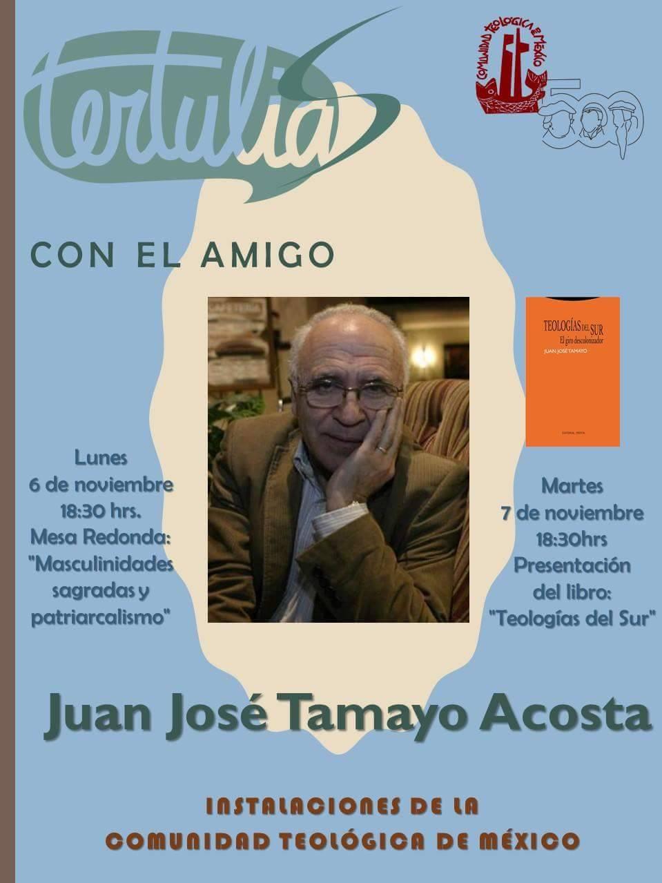 Tertulia con el amigo Juan José Tamayo Acosta