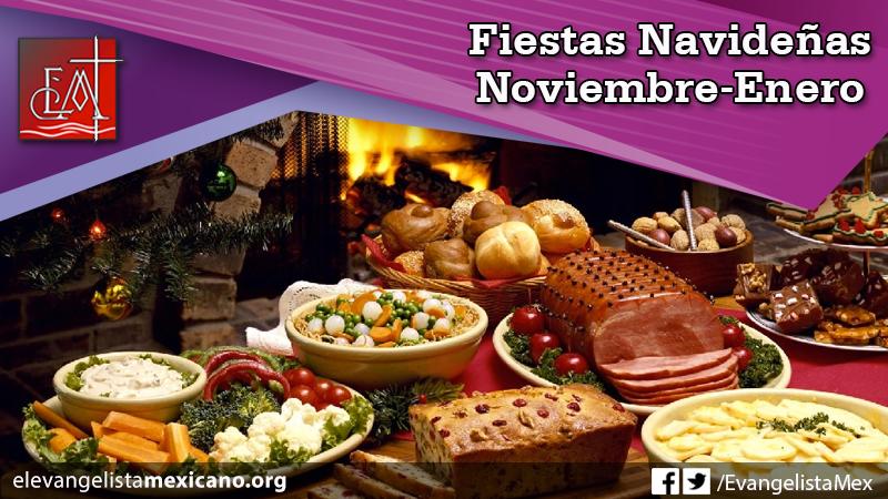 8) Fiestas Navideñas, noviembre-enero