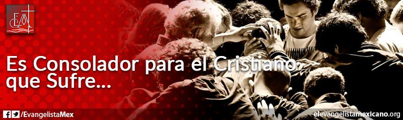 18) Es Consolador del cristiano que sufre