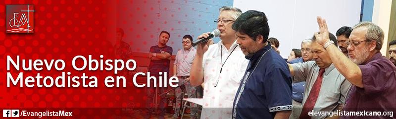 5) Nuevo Obispo Metodista en Chile