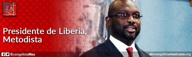 9) Presidente de Liberia, metodista