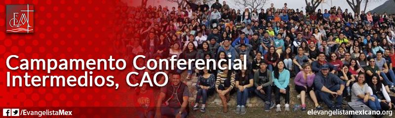 2) Campamento Conferenial de Intermedios, CAO