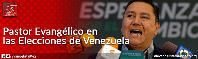 14. Pastor evangélico en las elecciones de Venezuela