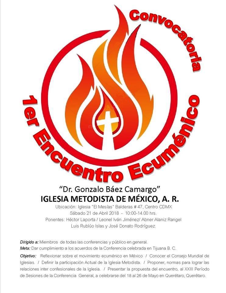 18. I Encuentro Ecuménico, Seminario Dr. Gonzalo Báez-Camargo