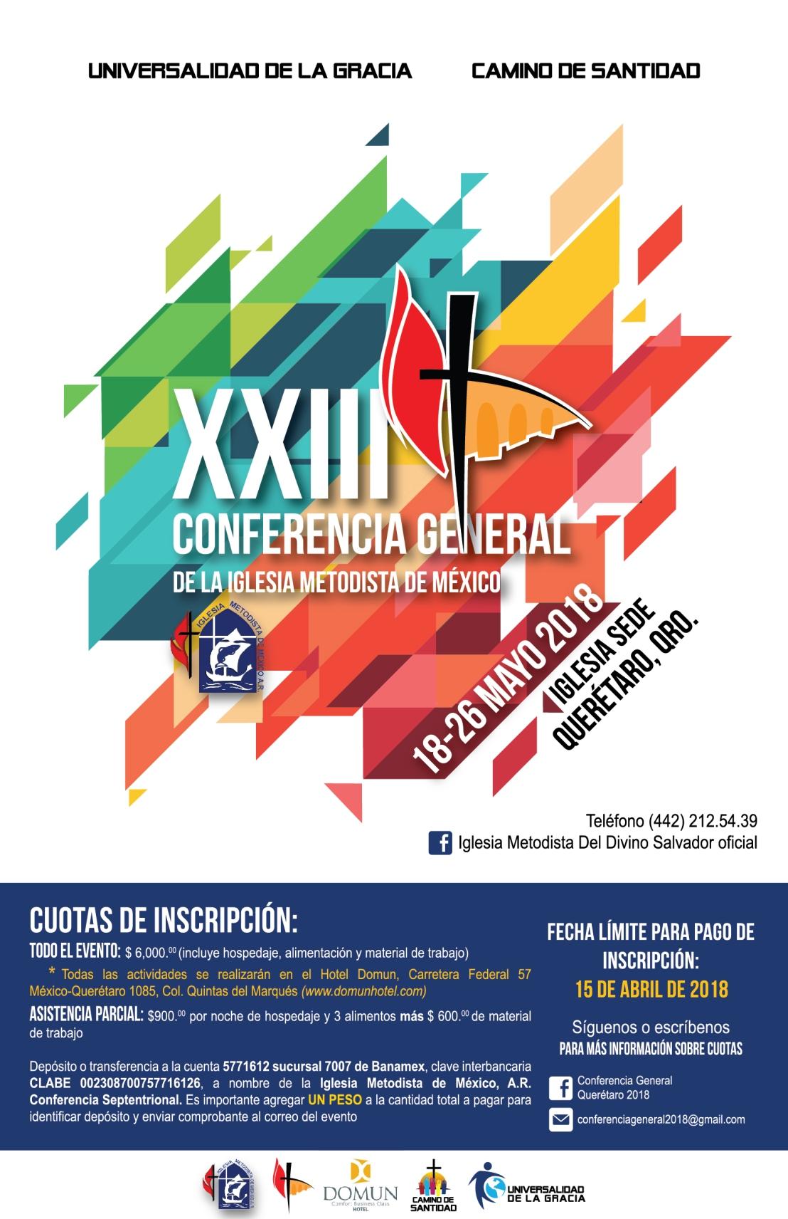 2. XXIII Conferencia General de la IMMAR