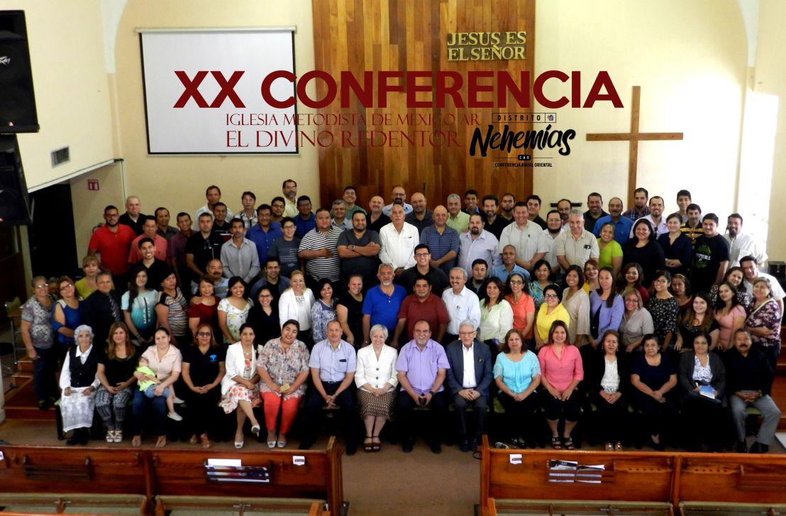 8. XX Conferencia del Distrito Nehemías, CAO