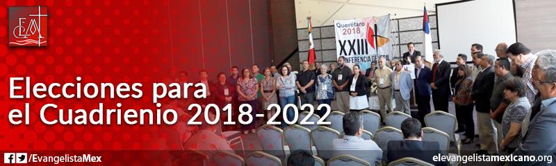 6. Elecciones para el cuadrienio 2018-2022