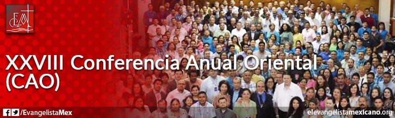 2. XXVIII Conferencia Anual Oriental (CAO)