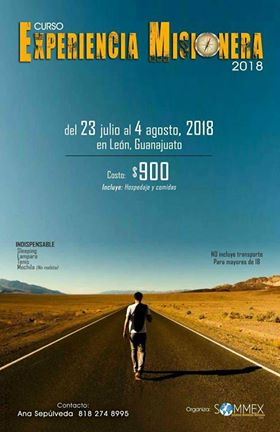 30. Experiencia Misionera 2018