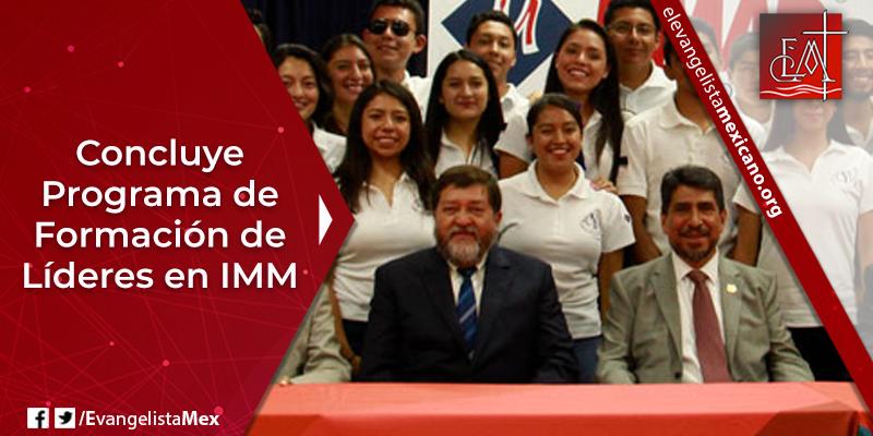 11. Concluye programa líderes IMM