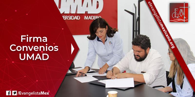 14. Firma convenios UMAD