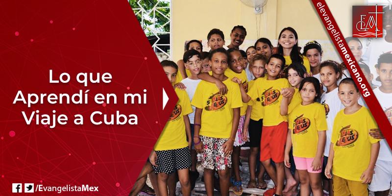 12. Lo que aprendí en mi viaje a Cuba