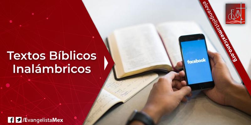 8. Textos bíblicos inalámbricos