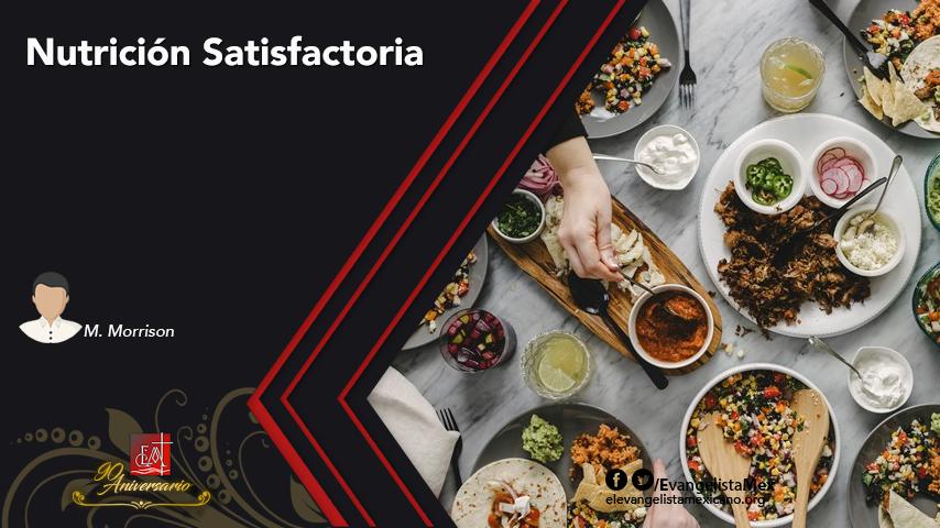 Nutrición Satisfactoria